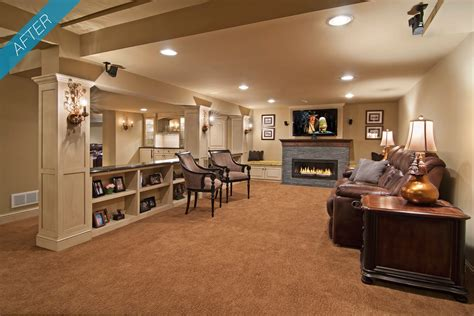 Basement Room by Home Design Basement Furniture Things