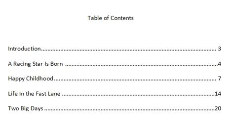 How To Write A Table Of Contents by Pin By On Reads Articles Tips Advice