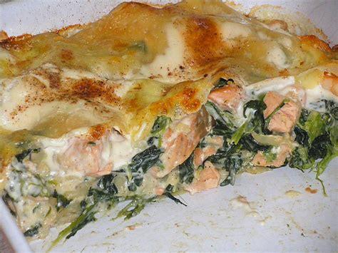 Lachs Bilder by Lachs Garnelen Spinat Lasagne Angie76 Chefkoch De
