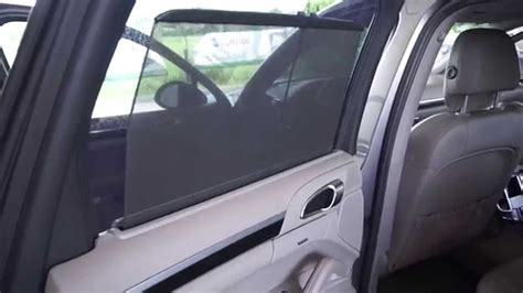 rear curtain porsche cayenne electric window curtain surprise and