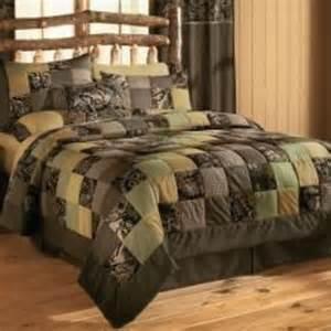 Rustic Bedroom Comforter Sets Cabela S Camo Patchwork Quilt Sets Zoom From Cabela S Epic