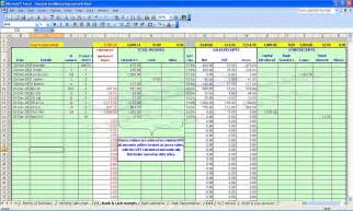 Accounting Spreadsheet Accounting Bookkeeping Spreadsheets Templates Demo