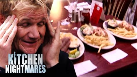 gordon ramsay kitchen nightmares dead lobster archives video markeing gordon ramsay is served 3 piss poor