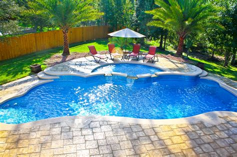 great pool great fiberglass inground pools pools for home