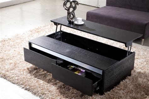 Black Coffee Table by Modern Black Coffee Table