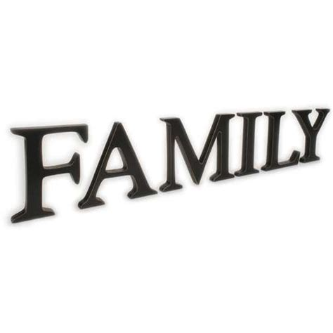 Wooden Signs Home Decor by Family Word Clipart Clipartion Com