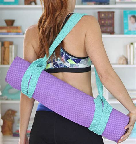 pattern for knitted yoga mat bag one day knitting projects in the loop knitting