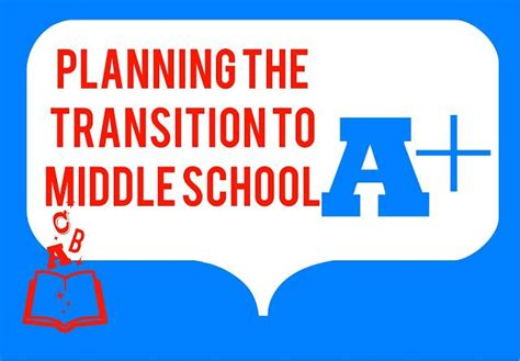 middle school counselor resources planning a transition to middle school event the middle
