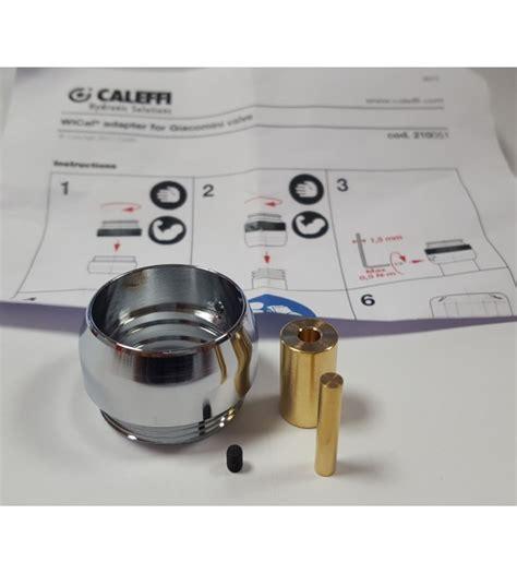 giacomini rubinetti adattatori per valvole giacomini termostatizzabili caleffi