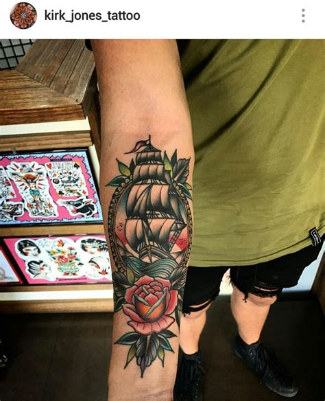 traditional pirate ship tattoo 25 best ideas about traditional ship on
