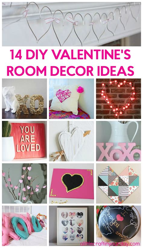 14 days valentines ideas 14 s room decor ideas a craft in your day