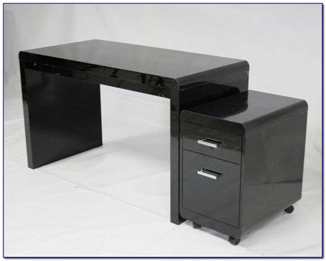 Black Gloss Office Desk High Gloss Office Desk Black Desk Home Design Ideas 8zdvemgnqa75750