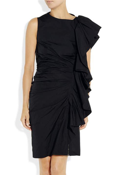 Ruffle Dress by Lanvin Structured Ruffle Taffeta Dress Clothes Fashion