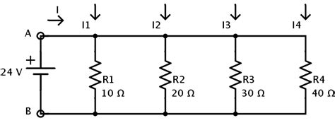 four 20 ohm resistors are connected in parallel what is the total resistance of the circuit resistors in parallel equivalent resistance formula