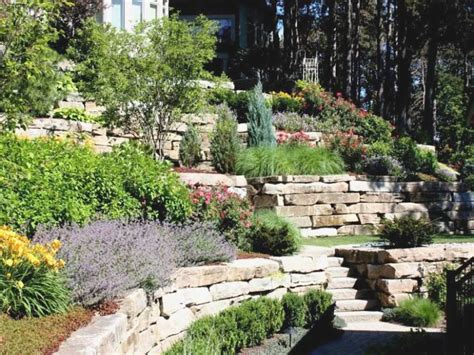slope landscaping ideas for backyards simple landscaping ideas for backyard