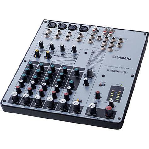 Daftar Mixer Yamaha 8 Channel yamaha mw8cx 8 channel usb mixer mw8cx b h photo