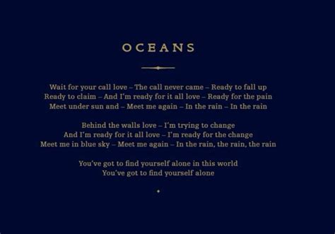 coldplay oceans lyrics 17 best images about coldplay