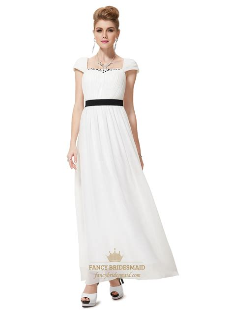 beaded bridesmaids dresses ivory chiffon cap sleeves beaded bridesmaid dress with