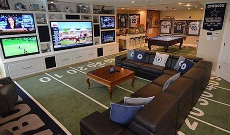 Steelers Bedroom manly passion projects 7 incredible man cave ideas