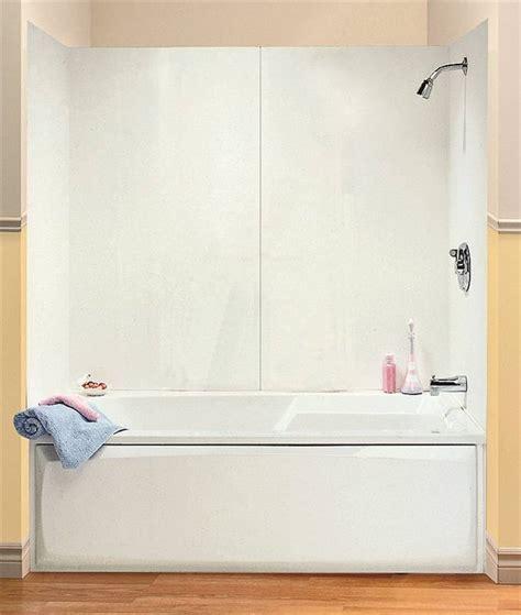 bathtub wall kit maax 101588 000 129 4 piece bathtub wall kit 48 60 in l x 30 in w x 54 in h