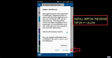 android company how to enable intune company portal browser access for ca enabled web apps anoopcnair