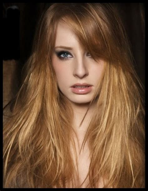 hairstyles copper blonde dark copper hair color with blonde highlights images