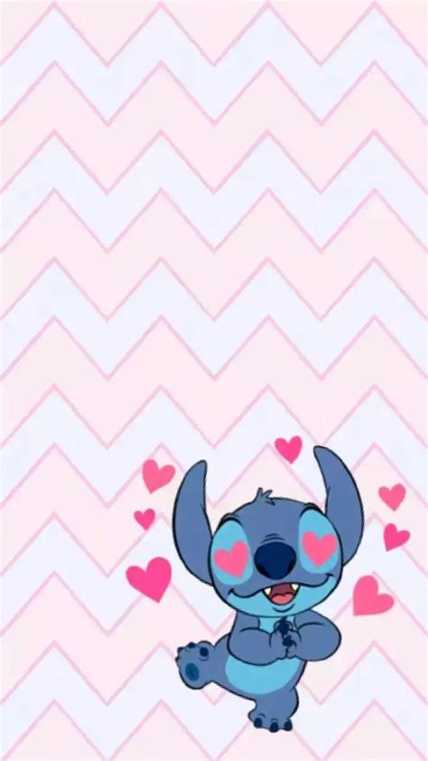 wallpaper dinding stitch gambar wallpaper kartun stitch gudang wallpaper