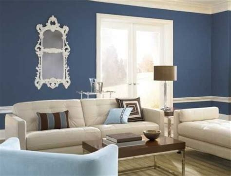 beige and blue contrast walls behr paint colors interior