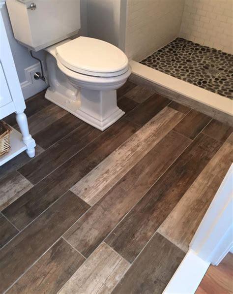 wood tile floor bathroom wood look tile bathroom peenmedia com