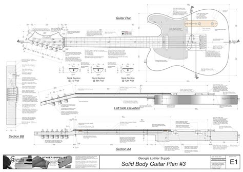 solid body electric guitar  electronic version american
