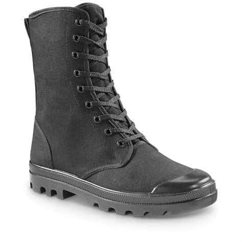 mens canvas boots mil tec s commando canvas boots 660533 combat