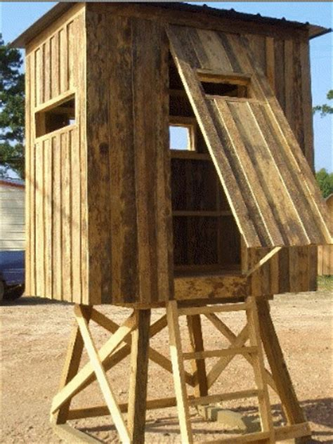 shooting house window ideas 5 free best homemade deer blind plans ideas 2017