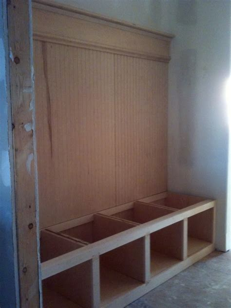 Home Plans With Mudroom mudroom lockers with bench plans home design ideas