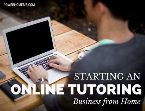 online tutorial home starting an online tutoring business from home
