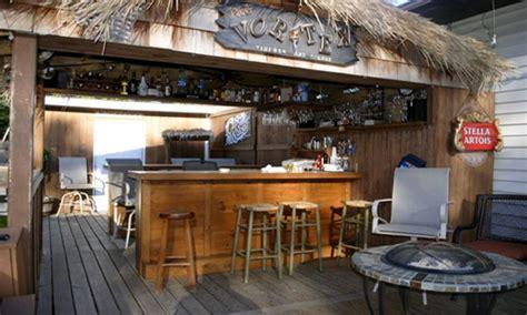 tiki paradise in your backyard fusaro home improvements tiki bar