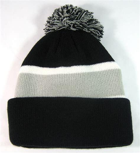 Pom Pom Beanie wholesale pom pom winter beanies hats black grey trendy