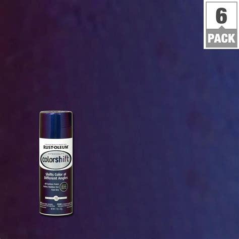 rustoleum color shift rust oleum specialty 11 oz galaxy blue color shift spray