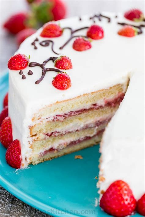 Reader Recipe Swedish Strawberry Cake by How To Make Strawberry Cake Recipe