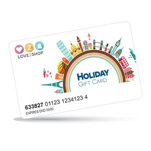High Street Gift Card - love2shop holiday gift cards free postage next day delivery