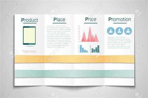 advertising brochure templates free marketing brochure templates set 1