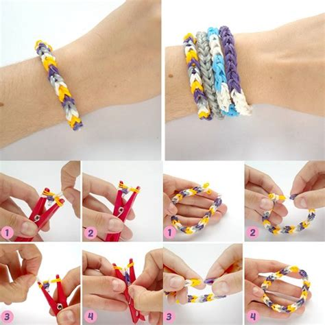 rubber st diy rubber band bracelets diy alldaychic