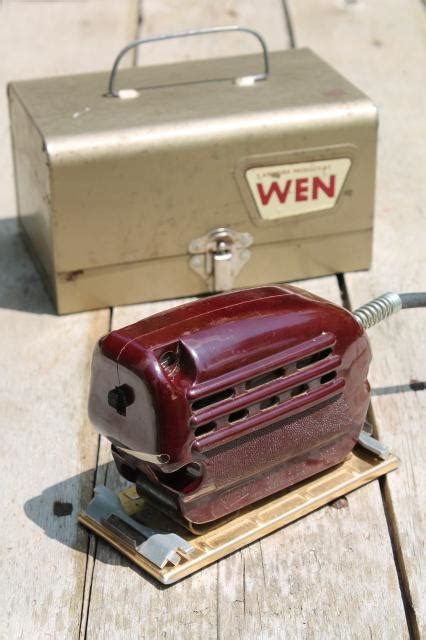 used woodworking power tools for sale vintage electric palm sander 1950s bakelite