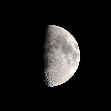 Half Moon free photo moon celestial half moon free image