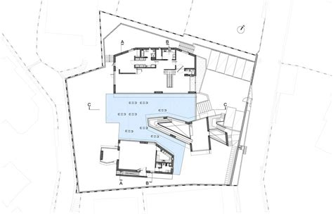 Steven Holl Daeyang Gallery And House Y House Steven Holl Floor Plans