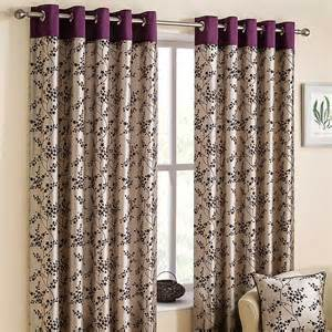 Flora pair of lined eyelet curtains grattan