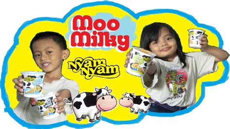 Nyam Nyam Moo Bubblegum 28gr nyam nyam moo 4 rasa vanilla bubblegum yoghurt