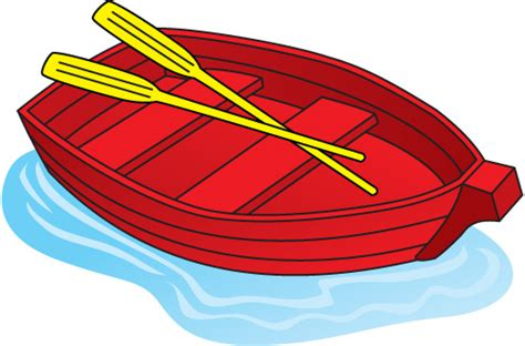 clipart of a boat row boat free clipart