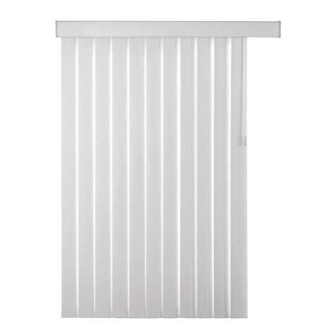 home depot home decorators collection blinds home decorators collection white stucco pvc vertical blind