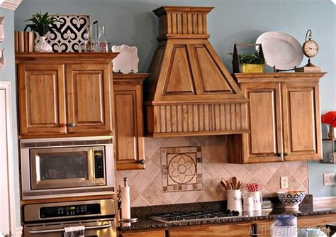 top of kitchen cabinet decor ideas myideasbedroom