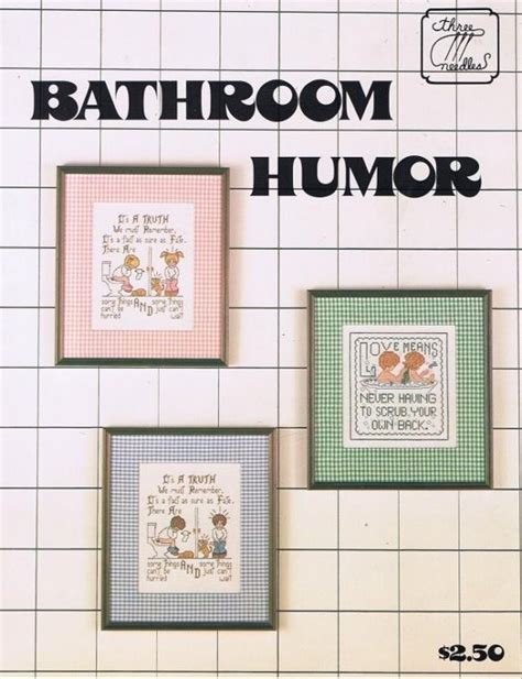 bathroom cross stitch patterns free 17 best images about bathroom humor on pinterest the